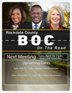 BOC on the Road Meeting (Shoal Creek Elementary) @ Shoal Creek Elementary School