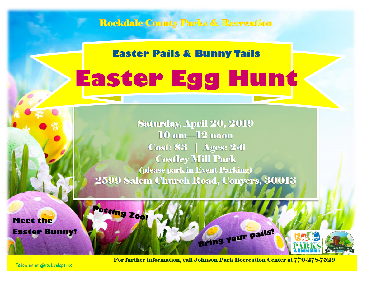 Easter Egg Hunt @ Costley Mill Park