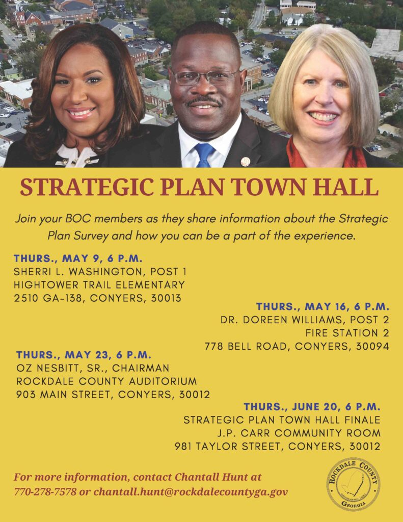 Strategic Plan Town Hall Finale @ J.P. Carr Community Center