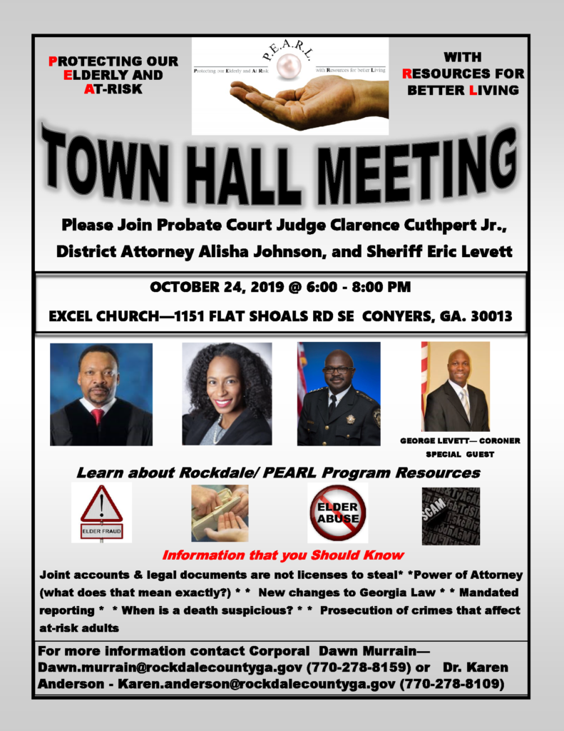 Town Hall Meeting @ Excel Church