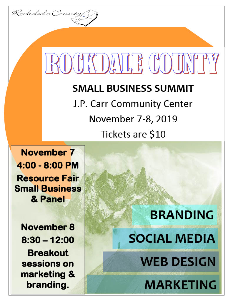 Rockdale County Small Business Summit 2019 @ JP Carr Community Room