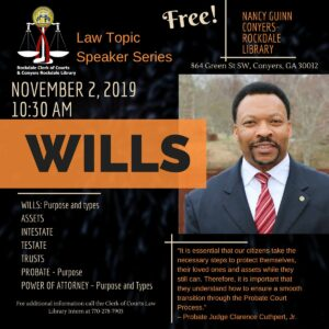 Law Topic Speaker Series @ Nancy Guinn Law Library
