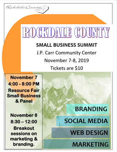2019 Small Business Summit @ J.P. Carr Community Center