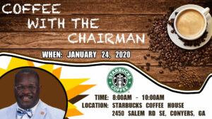 Coffee with the Chairman @ Starbucks Coffee House