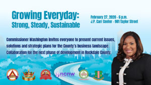 Growing Everyday : Strong, Steady , Sustainable @ JP Carr center