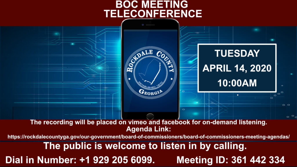 Teleconference BOC Meeting @ Phone Conference
