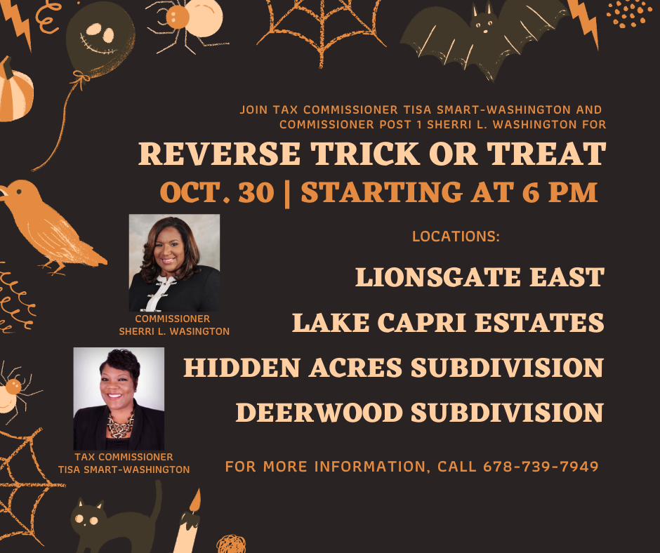 Reverse Trick or Treat @ Lionsgate East, Lake Capri Estates, Hidden Acres Subdivision and Deerwood Subdivision